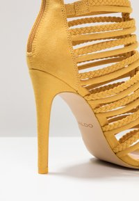 ALDO - RORKA - High heeled sandals - mustard - 2