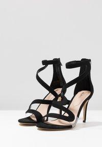 ALDO - GALEVIEL - Højhælede sandaletter / Højhælede sandaler - black - 4