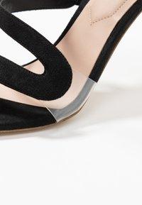 ALDO - GALEVIEL - Højhælede sandaletter / Højhælede sandaler - black - 2