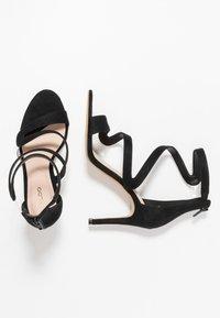 ALDO - GALEVIEL - High heeled sandals - black - 3