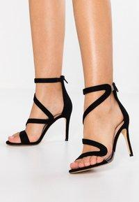 ALDO - GALEVIEL - Højhælede sandaletter / Højhælede sandaler - black - 0