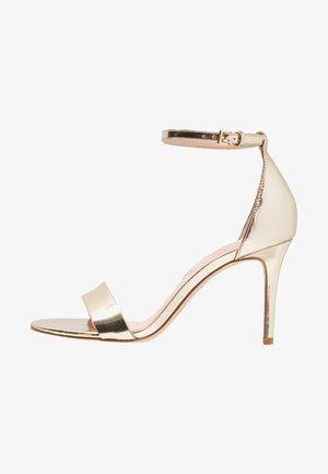 PILIRIA - Sandaler med høye hæler - gold