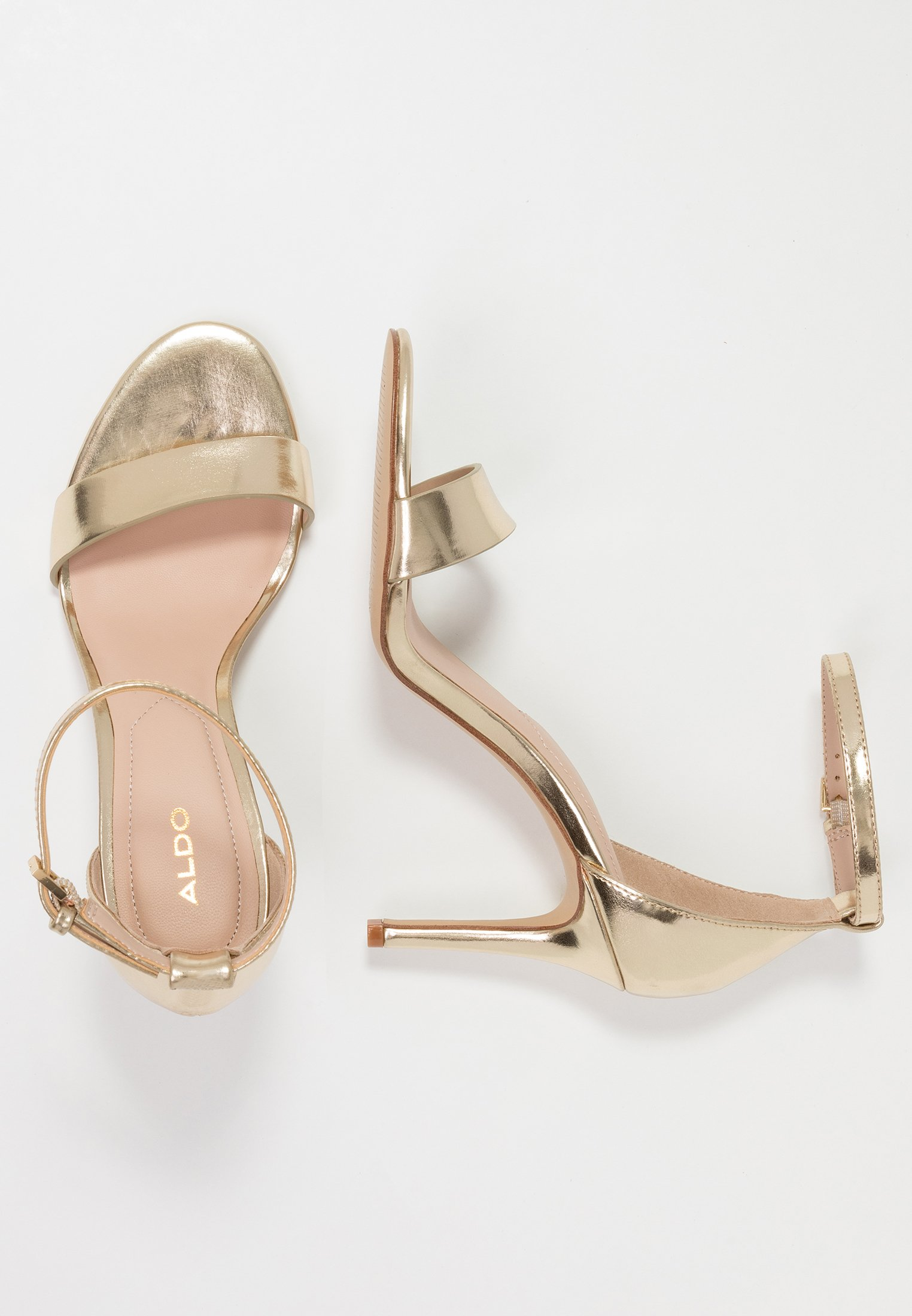 Aldo Piliria - Højhælede Sandaletter / Sandaler Gold
