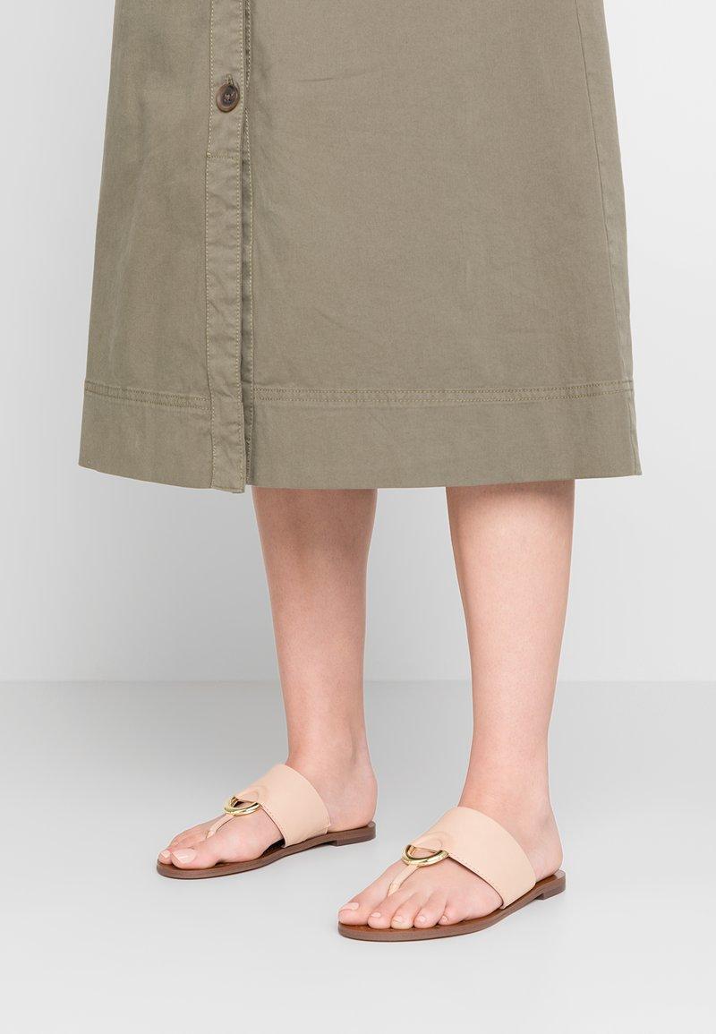 ALDO - OCERICIA - T-bar sandals - bone