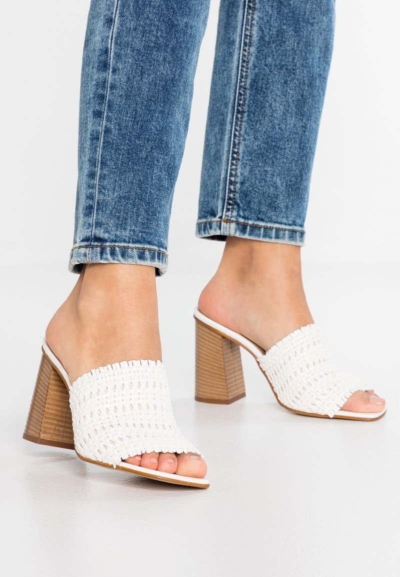 ALDO - LIRELLA - Slip-ins med klack - white