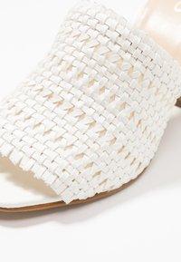 ALDO - LIRELLA - Slip-ins med klack - white - 2