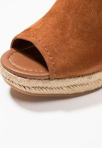 ALDO - NURKA - High heeled sandals - camel - 2