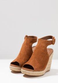 ALDO - NURKA - High heeled sandals - camel - 4