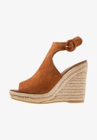ALDO - NURKA - High heeled sandals - camel - 1