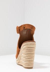 ALDO - NURKA - High heeled sandals - camel - 5