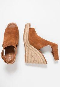 ALDO - NURKA - High heeled sandals - camel - 3