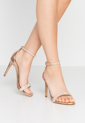 AROCLYA - High heeled sandals - metallic multicolor