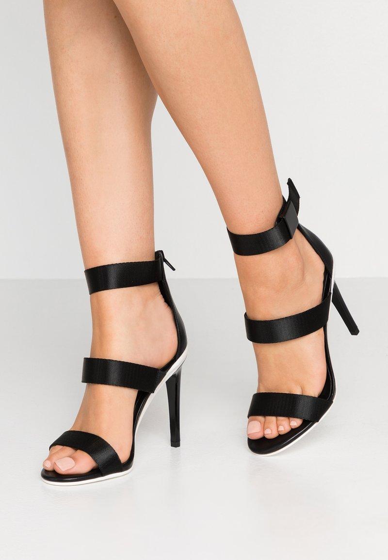 ALDO - TRAESIEN - Sandály na vysokém podpatku - black