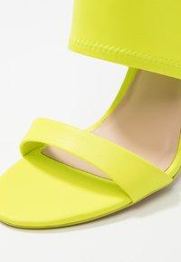 ALDO - GWIBRYLLA - High heeled sandals - green - 2