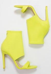 ALDO - GWIBRYLLA - High heeled sandals - green - 3