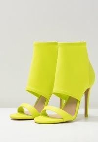 ALDO - GWIBRYLLA - High heeled sandals - green - 4