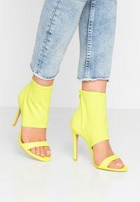 ALDO - GWIBRYLLA - High heeled sandals - green - 0