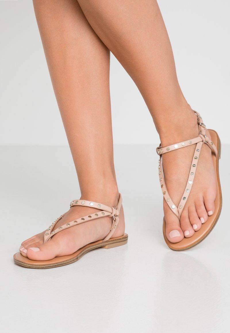 ALDO - FILANNA - T-bar sandals - bone