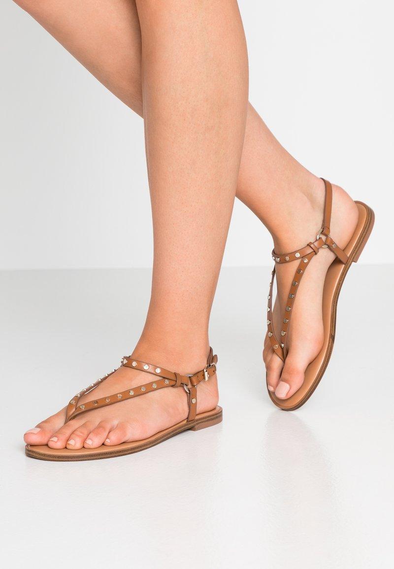 ALDO - FILANNA - T-bar sandals - cognac