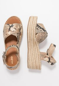 ALDO - TINEVIEL - Loafers - natural - 3