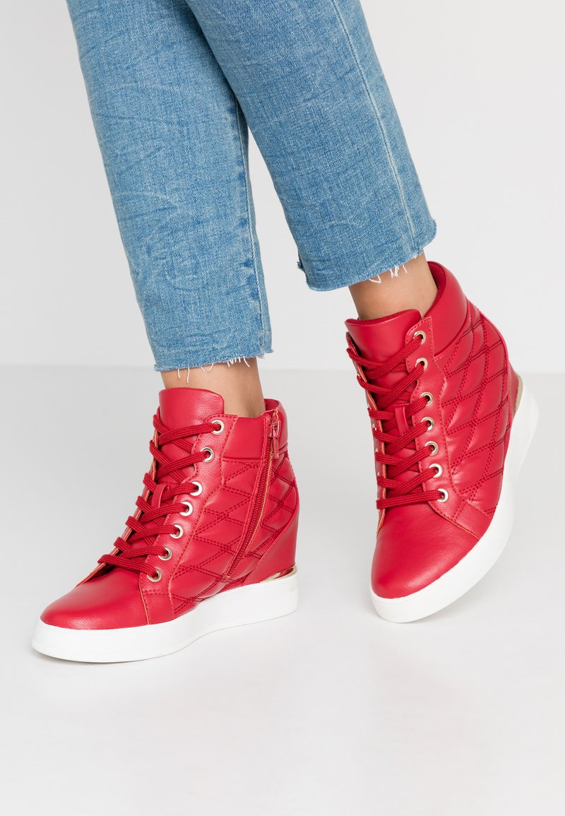ALDO - AFIRAVIA - High-top trainers - red