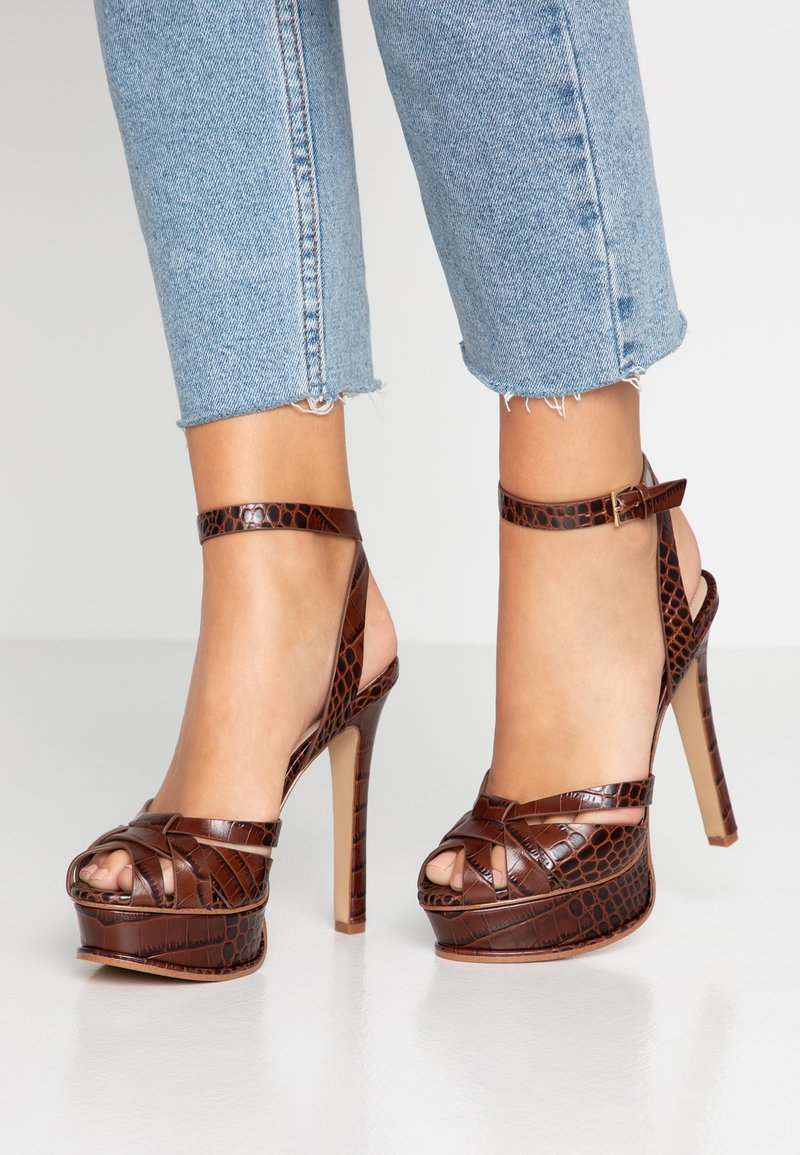 ALDO - LACLA - High heeled sandals - medium brown