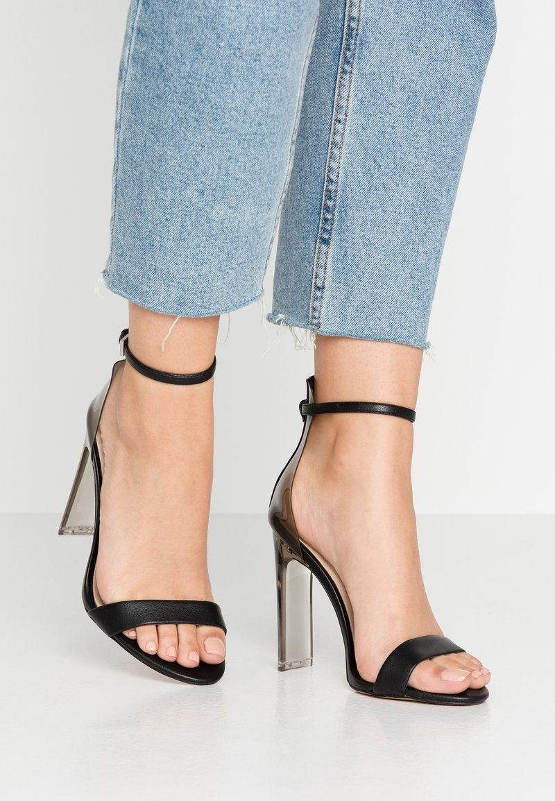 ALDO - ASERANIA - High heeled sandals - black
