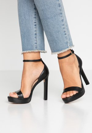 NYDIRANIA - Sandalen met hoge hak - black