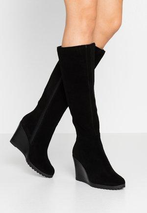 ELFI - Stivali con i tacchi - black