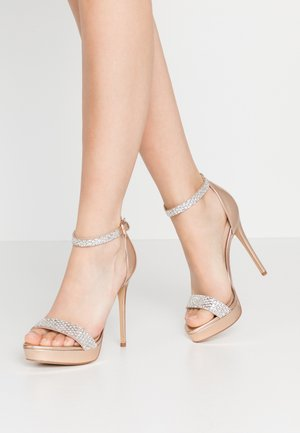 STUNNING - High Heel Sandalette - rose gold