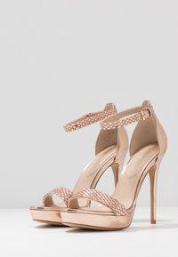 ALDO - STUNNING - High heeled sandals - rose gold - 4