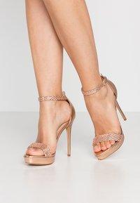 ALDO - STUNNING - High heeled sandals - rose gold - 0