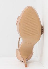 ALDO - STUNNING - High heeled sandals - rose gold - 6