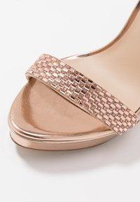 ALDO - STUNNING - High heeled sandals - rose gold - 2