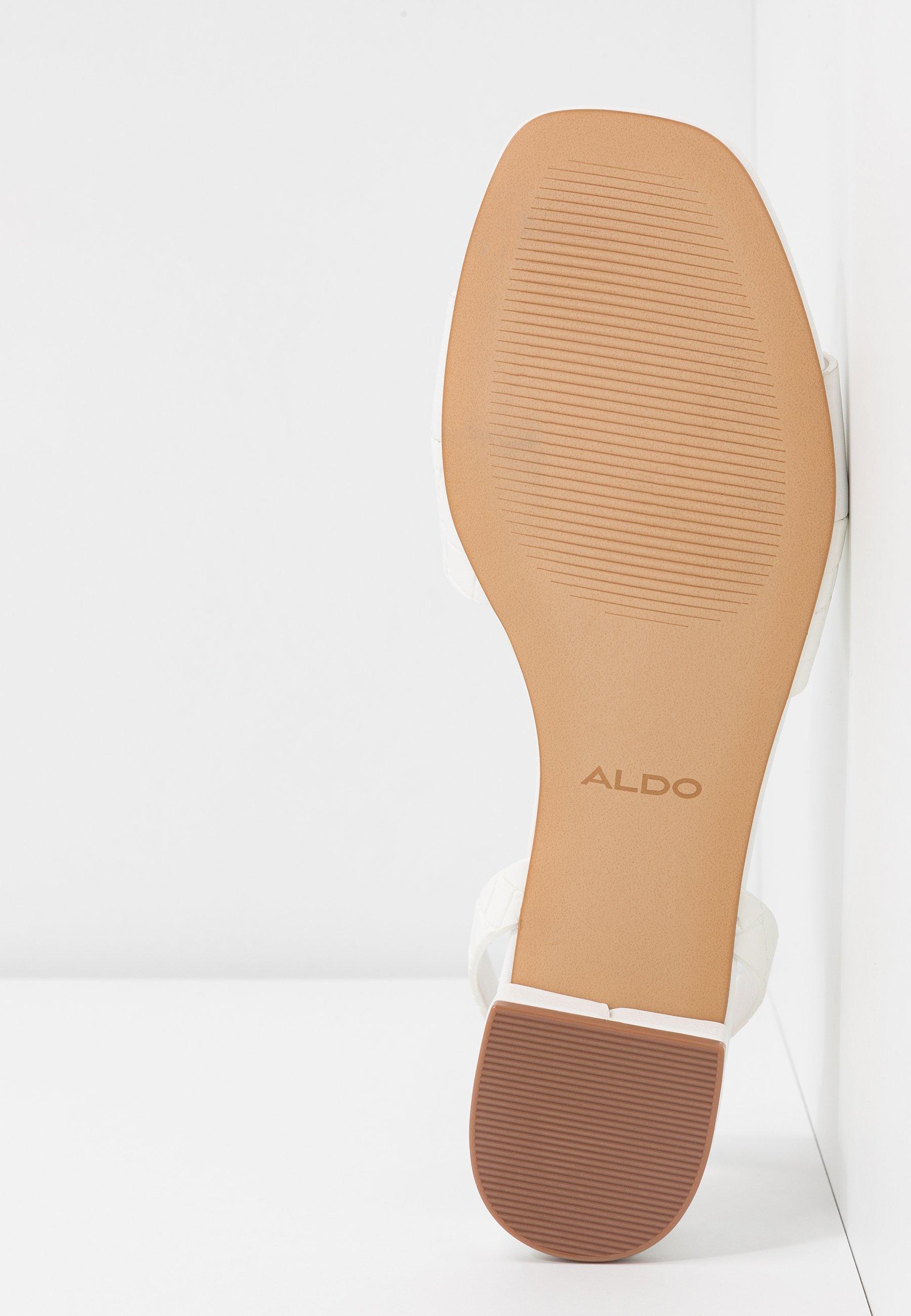 ALDO CANDY - Sandales - white
