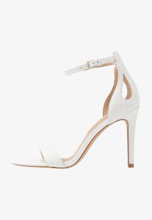 VIOLLA - High heeled sandals - white