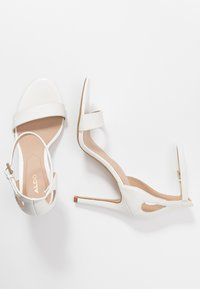 ALDO - VIOLLA - High heeled sandals - white - 3