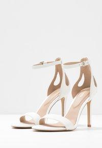 ALDO - VIOLLA - High heeled sandals - white - 4