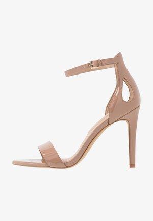 VIOLLA - Højhælede sandaletter / Højhælede sandaler - bone