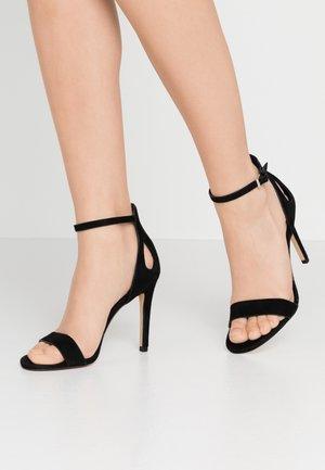VIOLLA - Sandaler med høye hæler - black