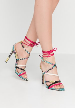 LAWRENCE - High heeled sandals - bright/multicolor