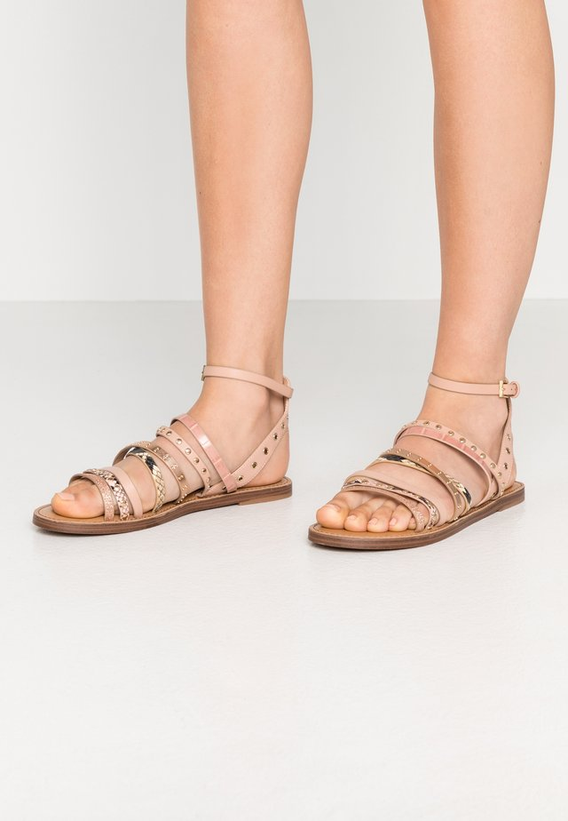 LEGERIDIA - Sandalen - light brown