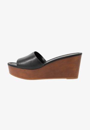 FAIRYGLEN - Pantofle na podpatku - black