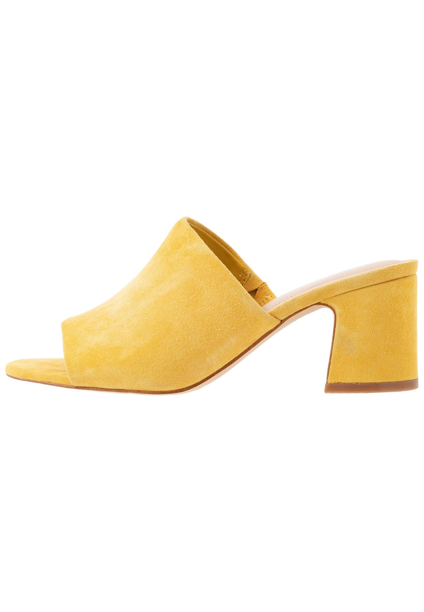 ALDO ADOMA - Heeled mules - yellow