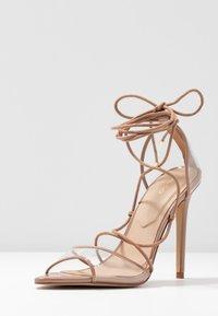 ALDO - AMENABAR - Sandaler med høye hæler - bone - 4