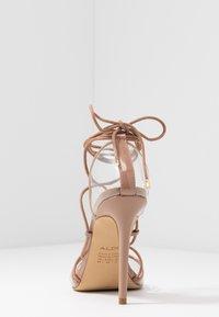 ALDO - AMENABAR - Sandaler med høye hæler - bone - 5
