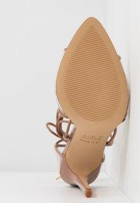 ALDO - AMENABAR - Sandaler med høye hæler - bone - 6