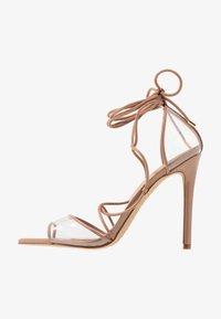 ALDO - AMENABAR - Sandaler med høye hæler - bone - 1
