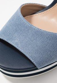 ALDO - BROA - High heeled sandals - navy - 2
