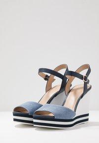 ALDO - BROA - High heeled sandals - navy - 4